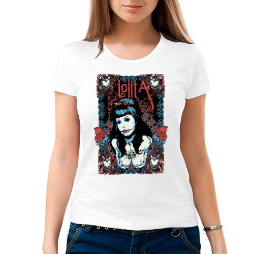Женская футболка хлопок  Фото 03, lolita