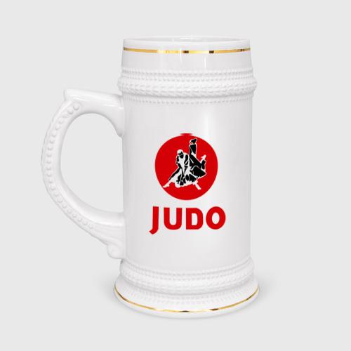 Кружка пивная  Фото 01, Judo