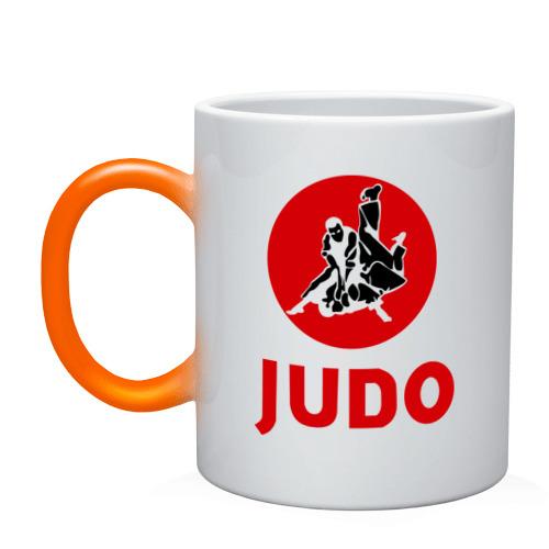 Кружка хамелеон  Фото 01, Judo