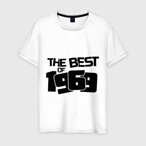 Мужская футболка хлопок The best of 1969 Фото 01