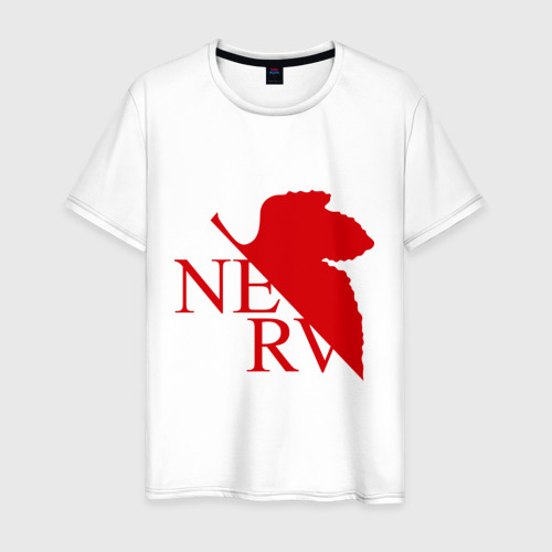 Мужская футболка хлопок Евангелион NERV