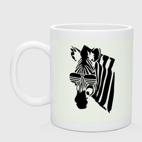 Зебра в очках