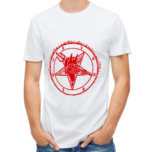 Мужская футболка полусинтетическая  Фото 01, Фландерс