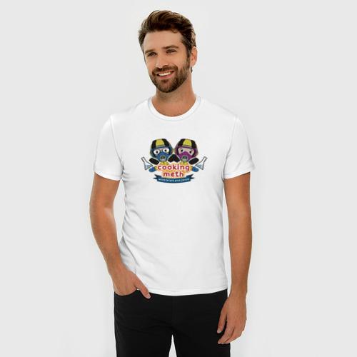 Мужская футболка премиум  Фото 03, Walt & Jesse