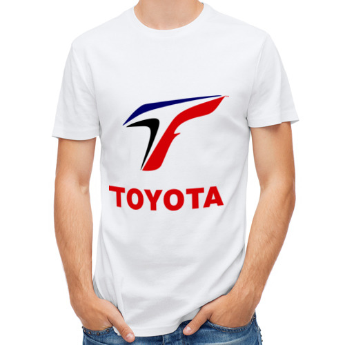 Мужская футболка полусинтетическая  Фото 01, Тойота