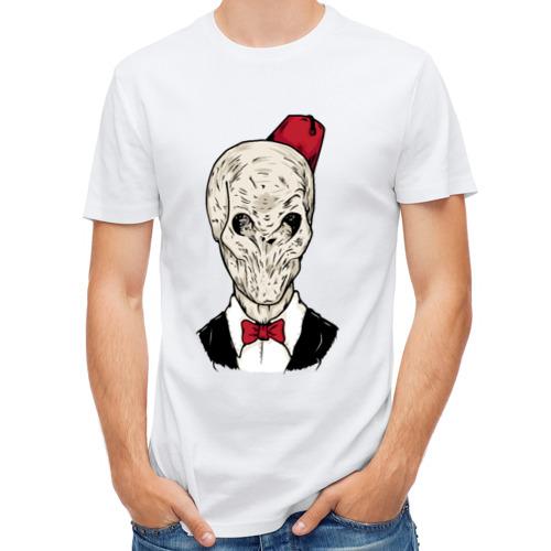 Мужская футболка полусинтетическая  Фото 01, Тишина
