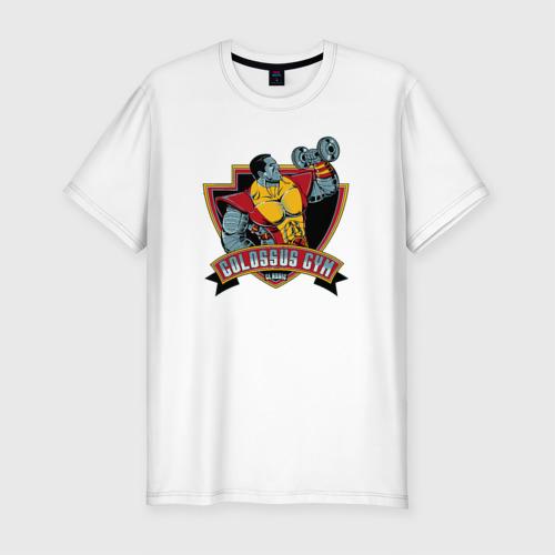 Мужская футболка премиум Colossus Gym