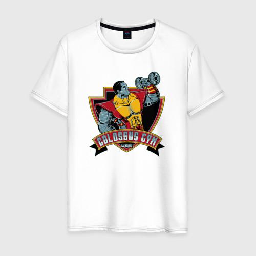 Мужская футболка хлопок Colossus Gym