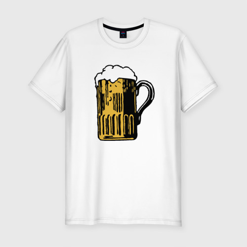Мужская футболка премиум  Фото 01, Пивко