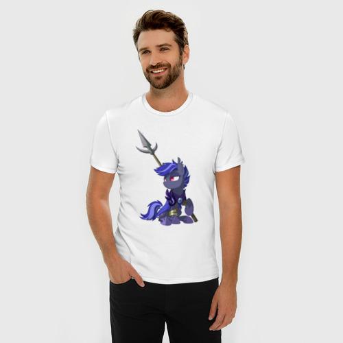 Мужская футболка премиум  Фото 03, BatPony - (ОС)