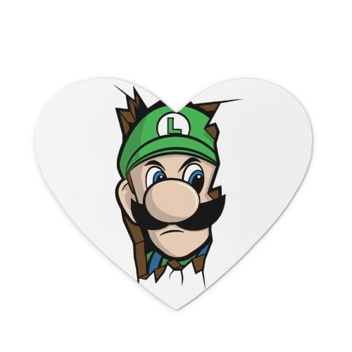 Коврик сердце  Фото 01, Луиджи Марио