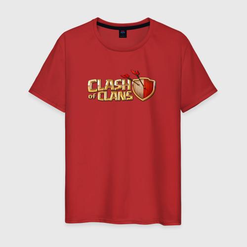 Мужская футболка хлопок Clash of clans Фото 01