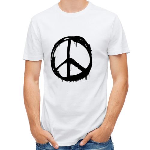 Мужская футболка полусинтетическая  Фото 01, Хиппи