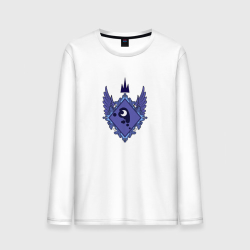 Мужской лонгслив хлопок  Фото 01, Luna (logo)