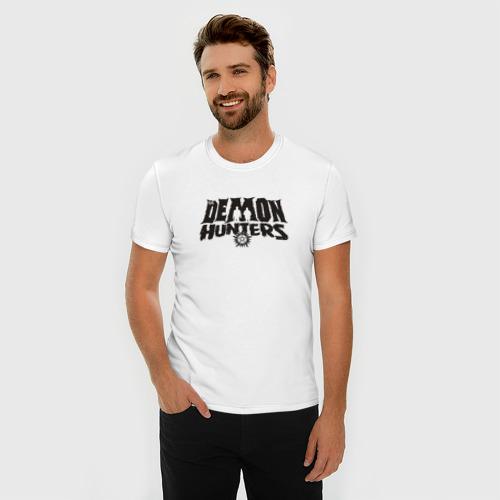 Мужская футболка премиум  Фото 03, Demon Hunters