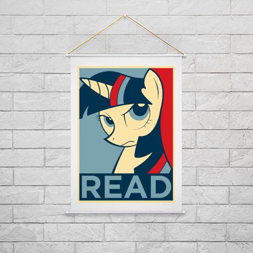 Тканевый плакат  Фото 02, Read