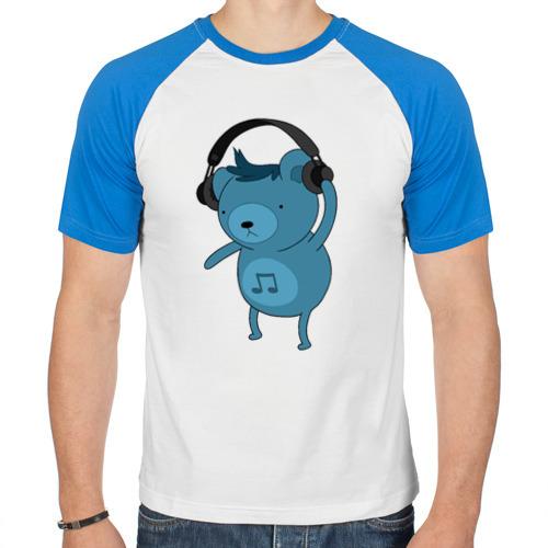 Мужская футболка реглан