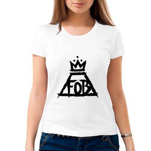 Женская футболка хлопок  Фото 03, Fall Out Boy
