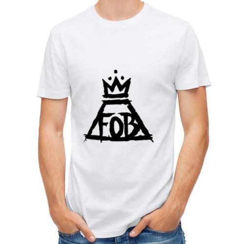 Мужская футболка полусинтетическая  Фото 01, Fall Out Boy