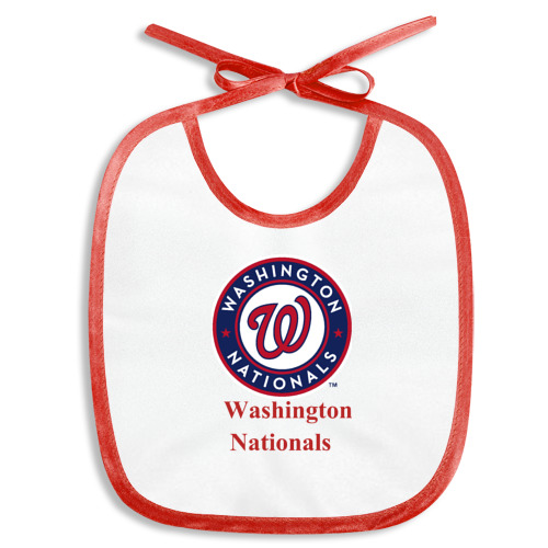 Слюнявчик  Фото 01, Washington Nationals