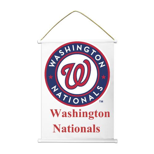 Тканевый плакат Washington Nationals