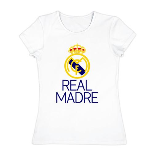 Женская футболка хлопок  Фото 01, Real Madre