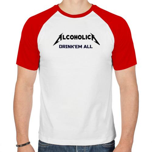 Мужская футболка реглан  Фото 01, AlcoholicA