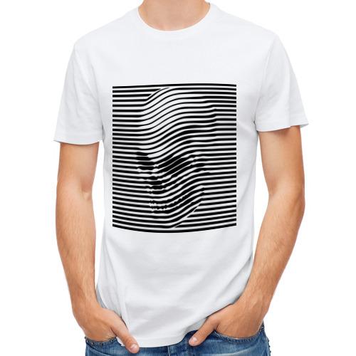 Мужская футболка полусинтетическая  Фото 01, Череп