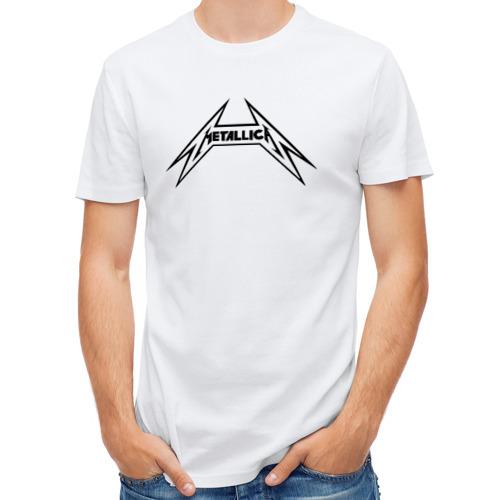 Мужская футболка полусинтетическая  Фото 01, логотип Metallica