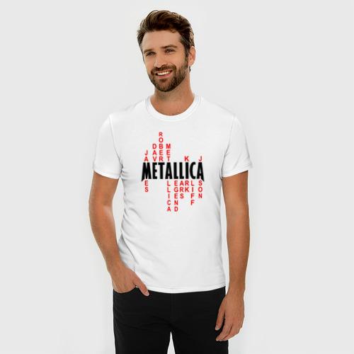 Мужская футболка премиум  Фото 03, «Metallica History»