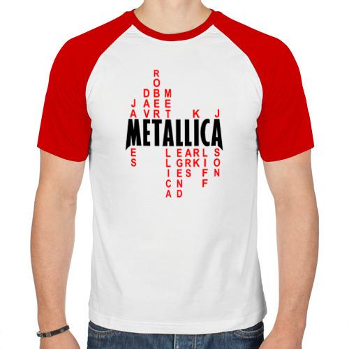 Мужская футболка реглан  Фото 01, «Metallica History»
