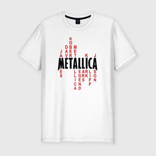 Мужская футболка премиум  Фото 01, «Metallica History»
