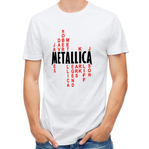 Мужская футболка полусинтетическая  Фото 01, «Metallica History»