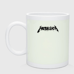Metallica painted logo
