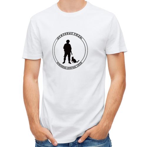 Мужская футболка полусинтетическая  Фото 01, Вежливые люди