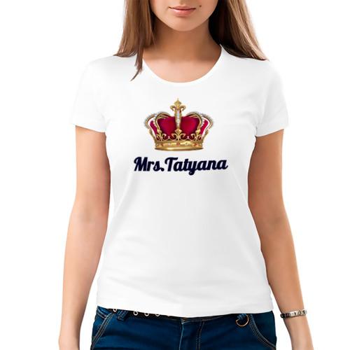 Женская футболка хлопок  Фото 03, Миссис Татьяна