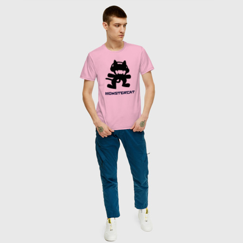 Мужская футболка хлопок Monstercat Фото 01