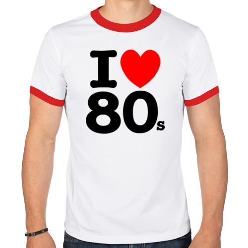 Мужская футболка рингер  Фото 01, I Love 80's