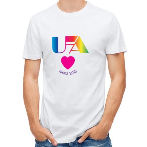 Мужская футболка полусинтетическая  Фото 01, Уфа BRIKS 2015