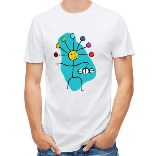 Мужская футболка полусинтетическая  Фото 01, Кураймен