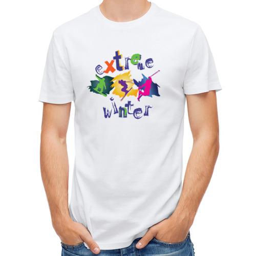 Мужская футболка полусинтетическая  Фото 01, Extreme winter