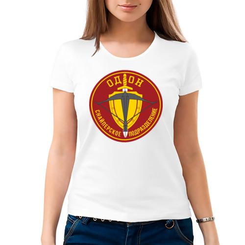 Женская футболка хлопок  Фото 03, ОДОН снайперское подразделение