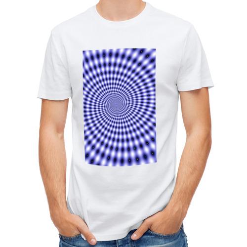 Мужская футболка полусинтетическая  Фото 01, Звёздный портал (иллюзия)
