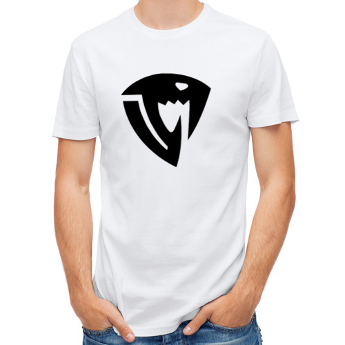 Мужская футболка полусинтетическая  Фото 01, Знак Саблезуба