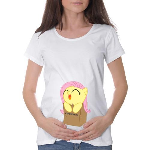Футболка для беременных хлопок Cute Fluttershy