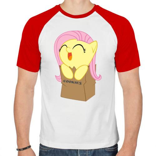 Мужская футболка реглан  Фото 01, Cute Fluttershy