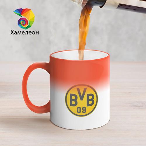 Кружка хамелеон  Фото 05, Borussia Dortmund