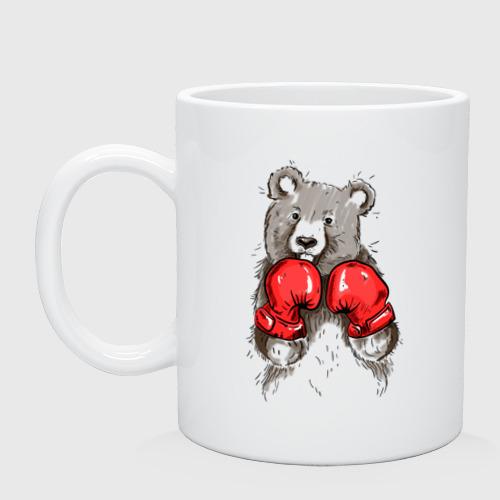 Кружка  Фото 01, Russia boxing