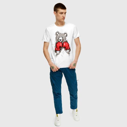 Мужская футболка хлопок Russia boxing Фото 01