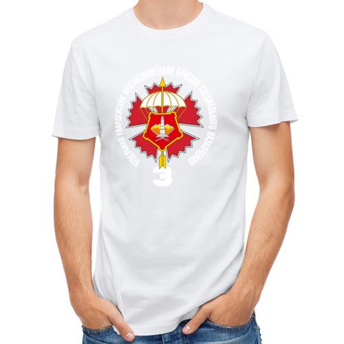 Мужская футболка полусинтетическая  Фото 01, 3 гв. ОБСпН ГРУ